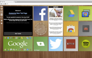 Calm – Style Your New Tab