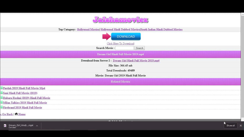 Jalshamoviez: Download Free Movies