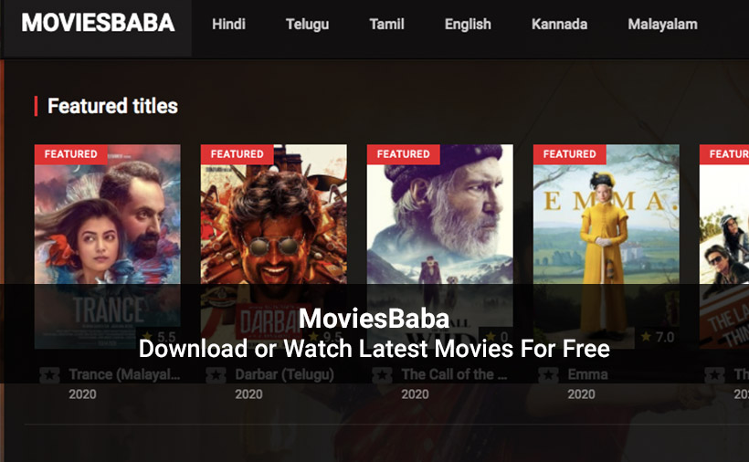 MoviesBaba - Movies TV Shows Online Watch And Download