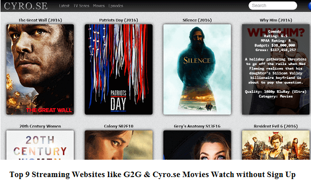 Top 10 Best CYRO.SE Alternatives Sites to Watch Movies