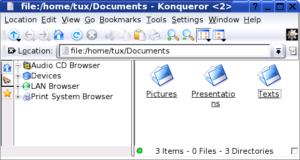 Konqueror File Manager