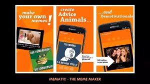 Mematic – The Meme Maker
