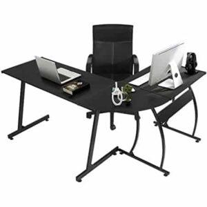 GreenForest L-Shaped Gaming Desk