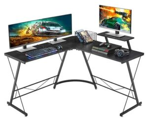 Mr IRONSTONE L-Shaped Gaming Desk