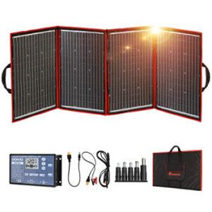 DOKIO Folding Solar Panel Kit