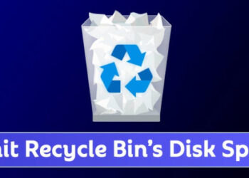 How to Limit the Amount of Disk Space Used by Recycle Bin