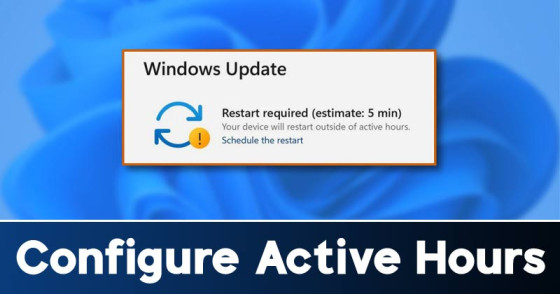 How to Setup & Enable Active Hours in Windows 11