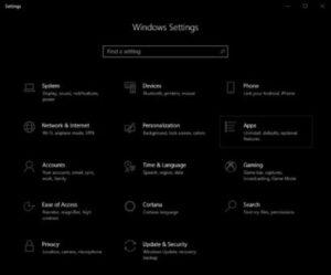 ninstall Microsoft Store Apps